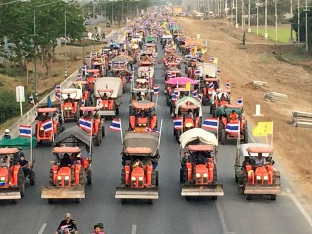 farmers coming to bangkok